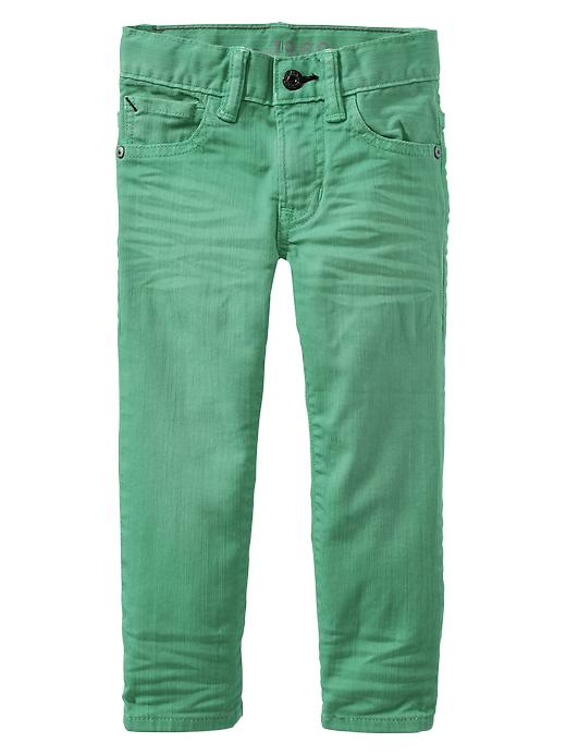 Gap Colored Skinny Fit Jeans - Green 029 - Gap Canada
