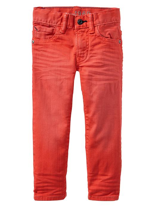 Gap Colored Skinny Fit Jeans - Terra coral - Gap Canada