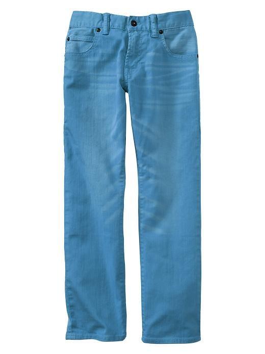 Gap 1969 Straight Jeans - Folder blue - Gap Canada