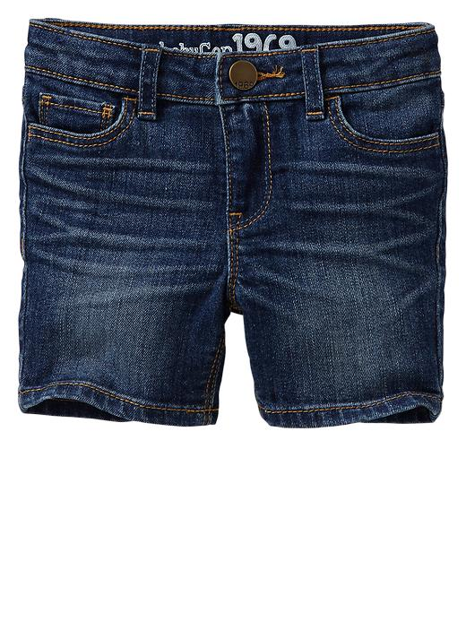 Gap Bermuda Denim Shorts - Indigo denim - Gap Canada
