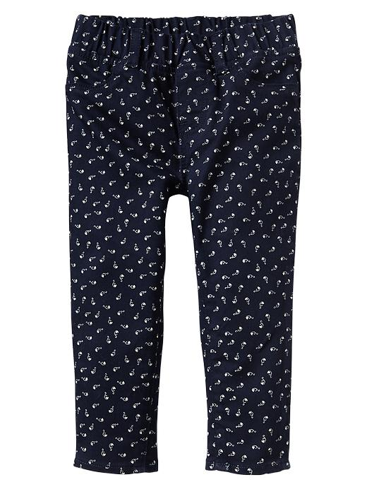 Gap Print Legging Jeans - Blue galaxy - Gap Canada