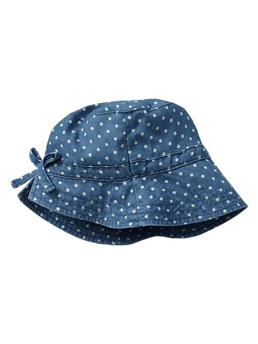 Gap Bow Bucket Hat - Denim - Gap Canada
