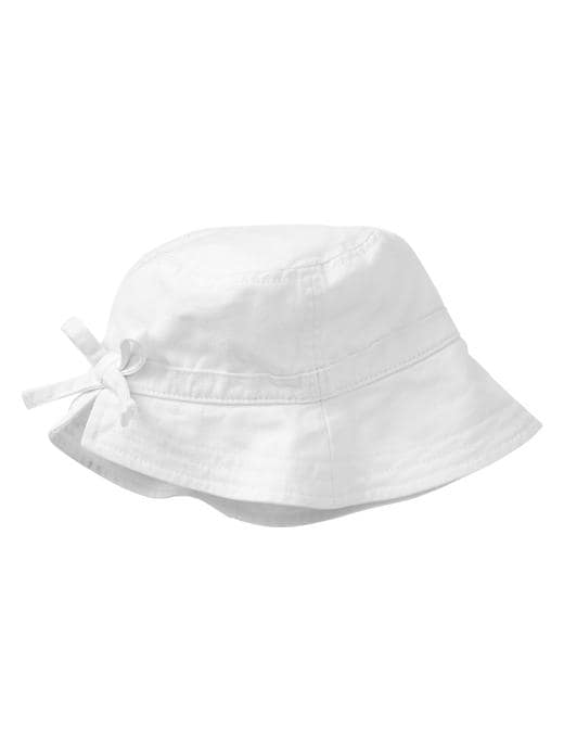 Gap Bow Bucket Hat - White - Gap Canada