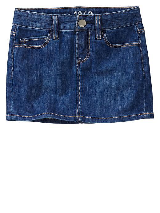 Gap 1969 Denim Mini Skirt - Rinse - Gap Canada