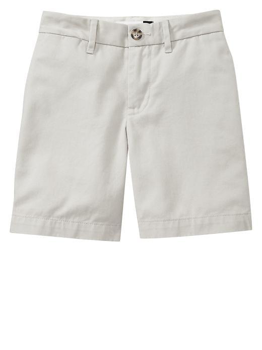 Gapshield Uniform Flat Front Shorts - Stone - Gap Canada