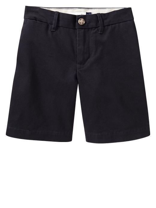 Gapshield Uniform Flat Front Shorts - True navy - Gap Canada