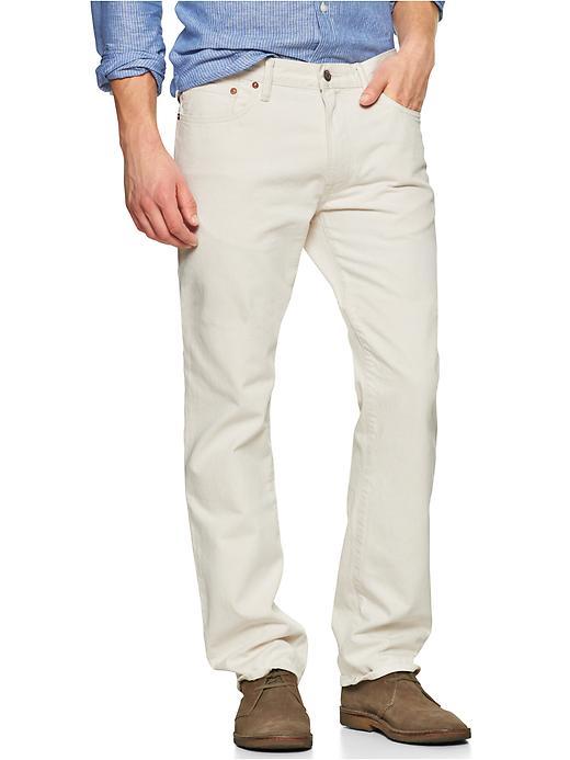 Gap 1969 Straight Fit Jeans (Natural Wash) - Natural - Gap Canada
