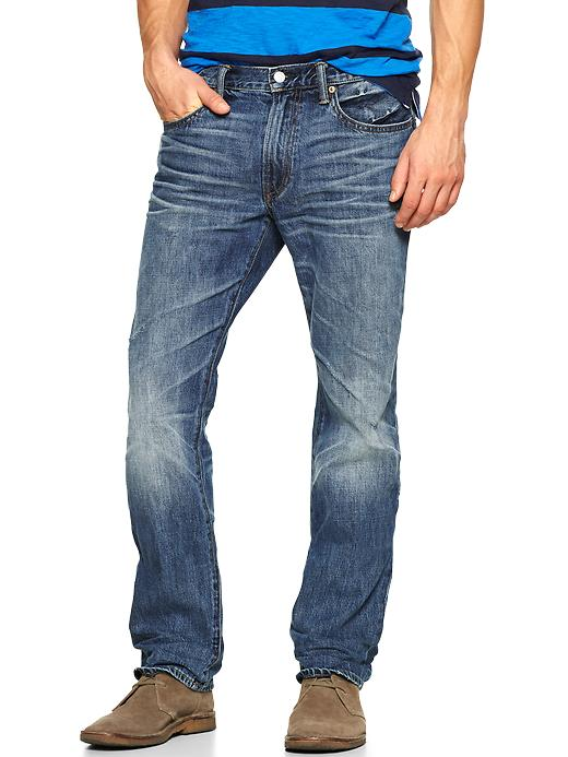 Gap 1969 Straight Fit Jeans (Frigate Wash) - Frigate