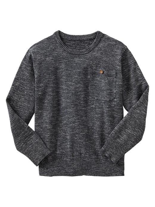 Gap Marled Crewneck Sweater - Blue galaxy