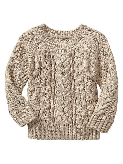 Gap Cable Knit Sweater - Sly stone beige - Gap Canada
