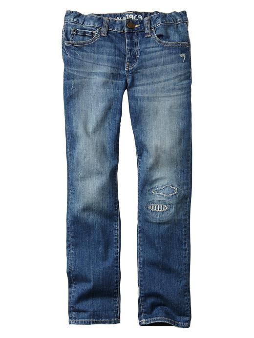 Gap 1969 Patch Boy Fit Jeans - Medium wash - Gap Canada
