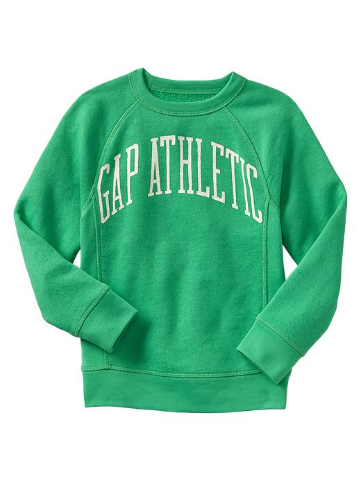 Gap Lived In Logo Sweatshirt - Summer jade - Gap Canada