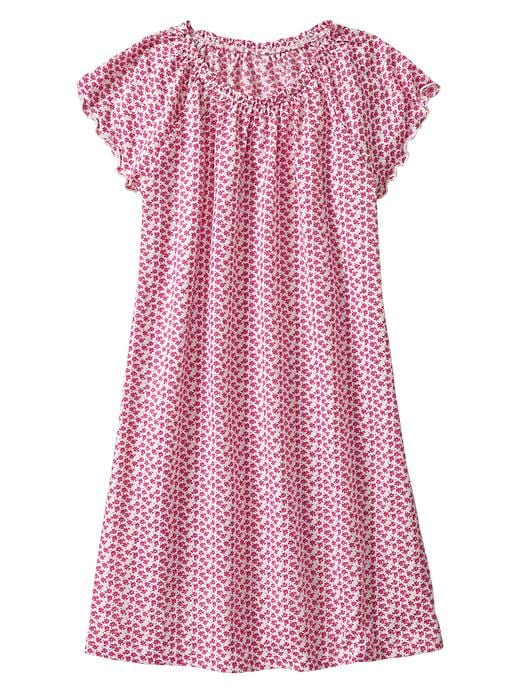 Gap Floral Flutter Nightgown - Pink reef - Gap Canada