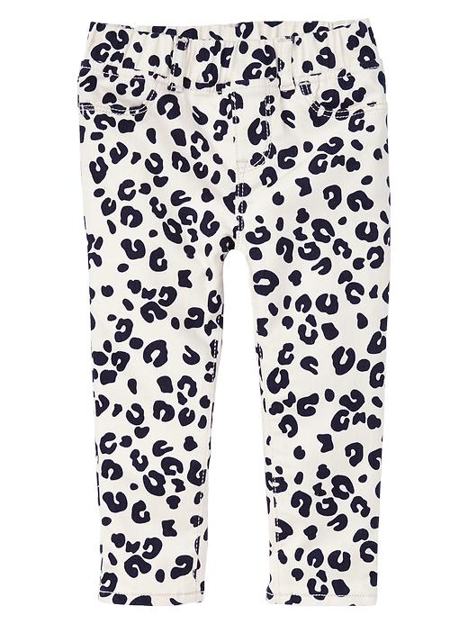 Gap Print Legging Jeans - Bleach - Gap Canada