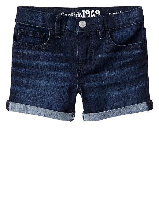 Gap Classic Dark Denim Shorts - Dark wash indigo - Gap Canada
