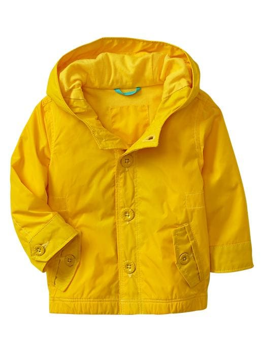 Gap Nylon Parka - Rain slicker yellow
