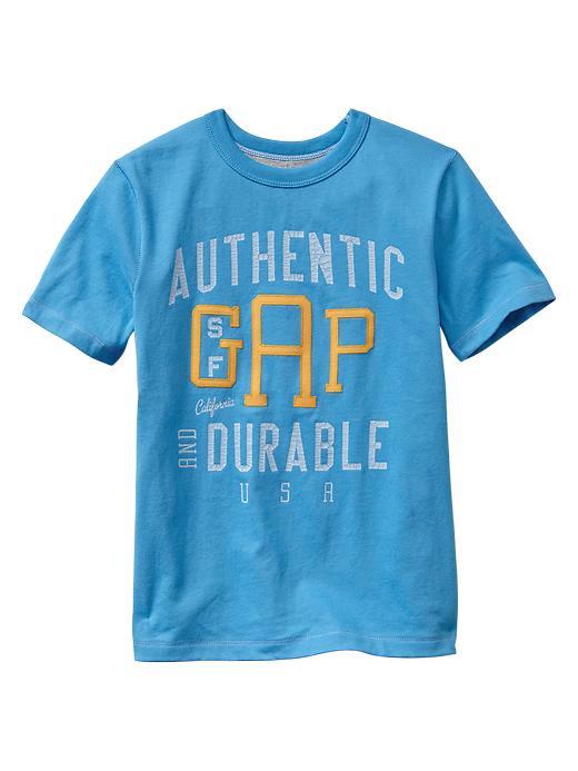 Gap Athletic Logo Graphic T - Bright azure