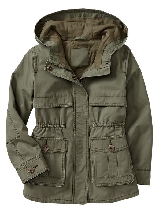 Gap Hooded Anorak - Walden green - Gap Canada