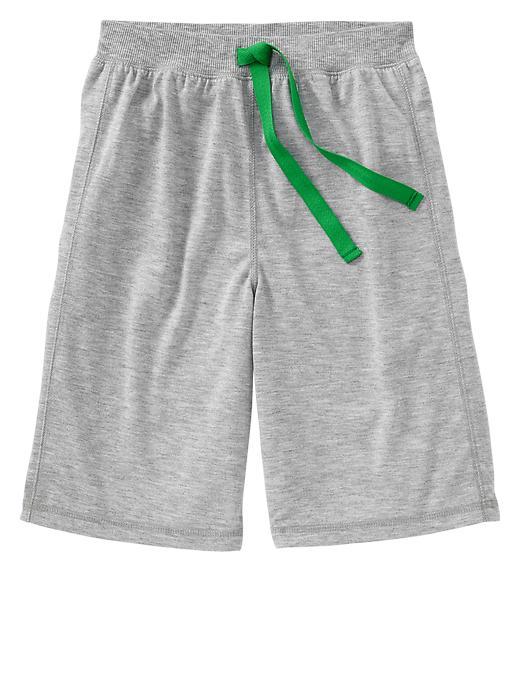 Gap Colored Pj Shorts - Heather gray - Gap Canada
