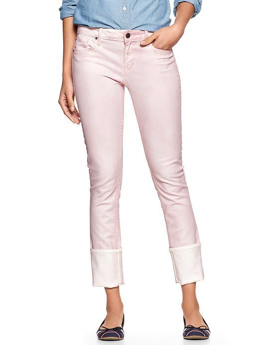 Gap 1969 Cuffed Always Skinny Jeans - Pink dogwood - Gap Canada