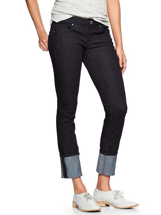 Gap 1969 Cuffed Always Skinny Jeans - Rinse - Gap Canada