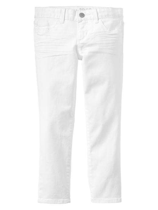 Gap 1969 White Super Skinny Skimmer Jeans - Optic white - Gap Canada