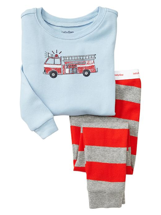 Gap Fire Truck Sleep Set - Poster red - Gap Canada