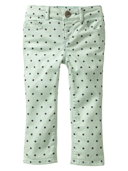 Gap Star Print Skinny Jeans - Quince - Gap Canada