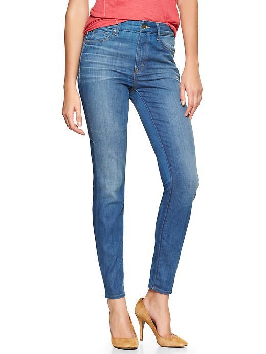Gap 1969 High Rise Skinny Jeans - Windward wash - Gap Canada