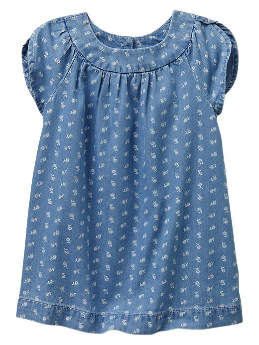 Paddington Bear For Babygap Tulip Shift Dress - Denim - Gap Canada