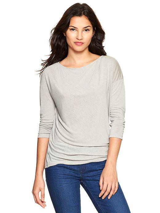 Gap Fluid Three Quarter Sleeve T - Canyon shadow