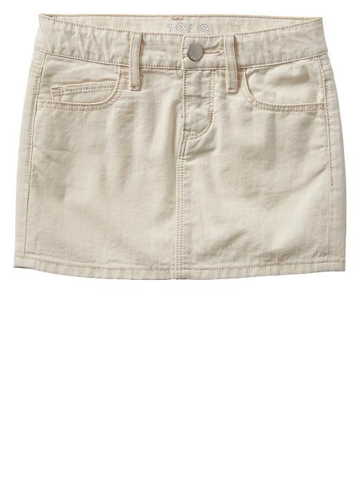 Gap 1969 Denim Mini Skirt - Natural denim - Gap Canada
