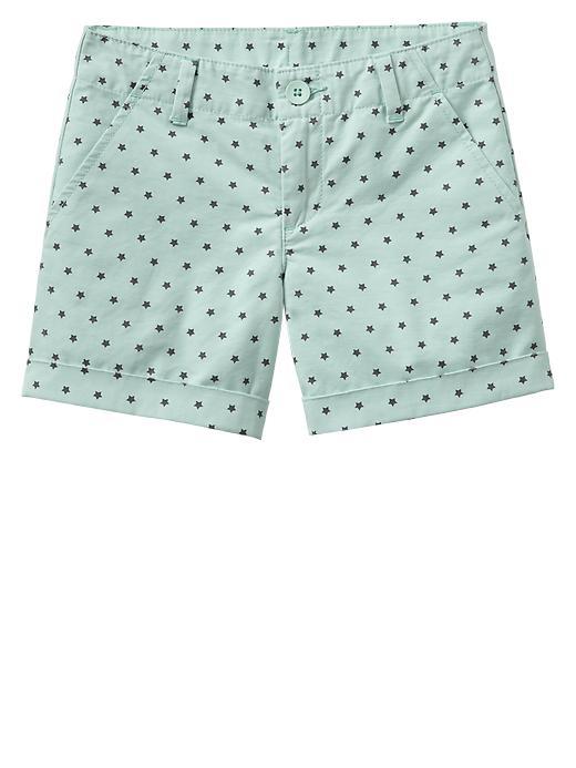 Gap Star Printed Khaki Shorts - Quince