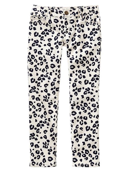 Gap 1969 Leopard Print Super Skinny Jeans - Bleach - Gap Canada
