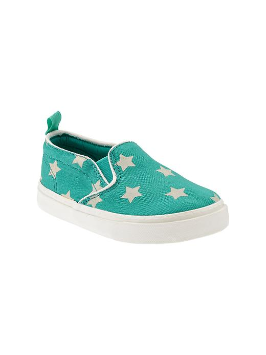 Gap Printed Slip On Sneakers - Egyptian turquoise - Gap Canada