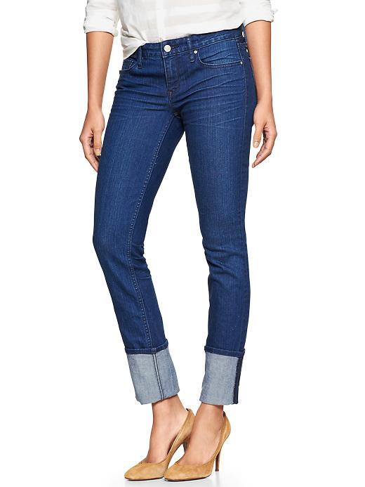 Gap 1969 Cuffed Always Skinny Jeans - Riverside wash - Gap Canada