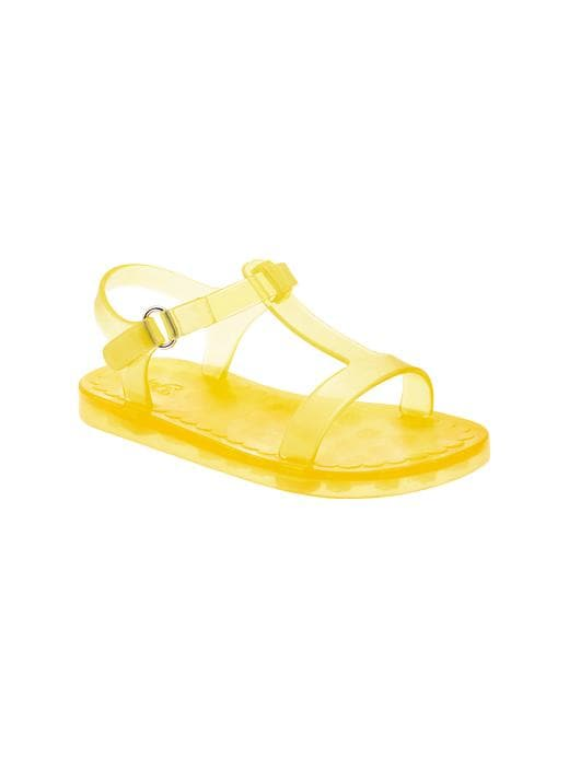 Gap T Strap Jelly Sandals - Aurora yellow - Gap Canada