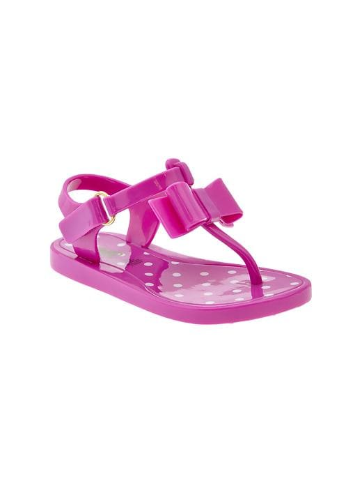 Gap Bow Jelly Sandals - Budding lilac