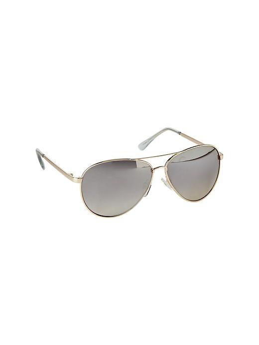Gap Aviator Sunglasses - Gold - Gap Canada