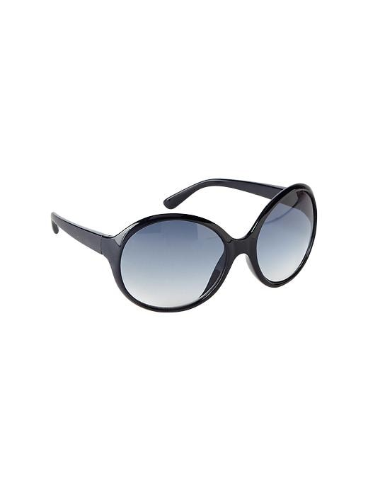 Gap Oversized Sunglasses - Blue galaxy