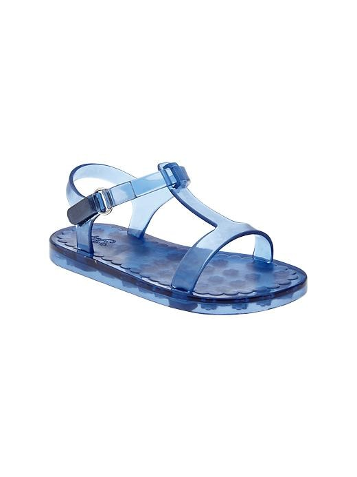Gap T Strap Jelly Sandals - Blue