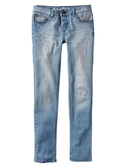Gap 1969 Rip & Repair Super Skinny Jeans - Denim - Gap Canada