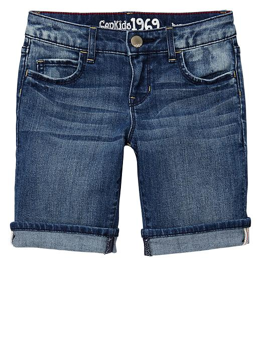 Gap 1969 Denim Bermuda Shorts - Denim - Gap Canada