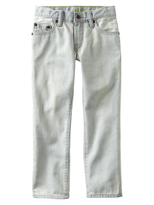 Gap 1969 Bleached Straight Jeans - Bleach out - Gap Canada