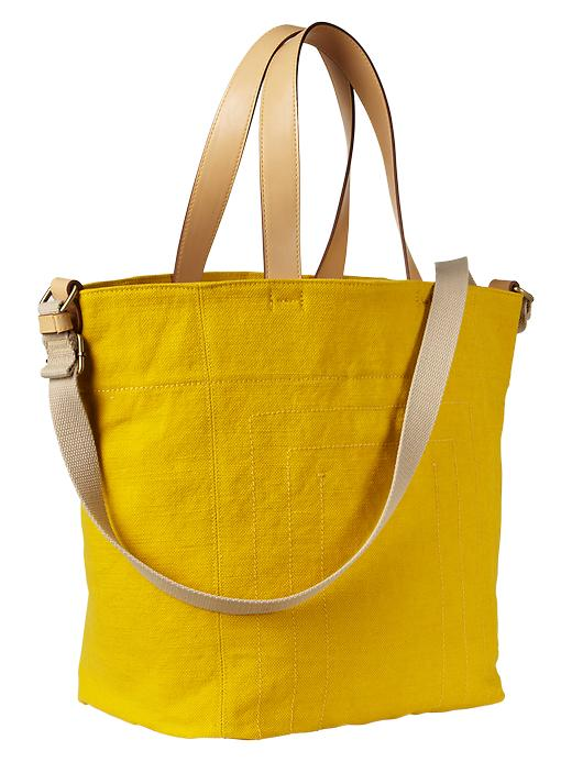 Gap Canvas Tote - Yellow jacket - Gap Canada