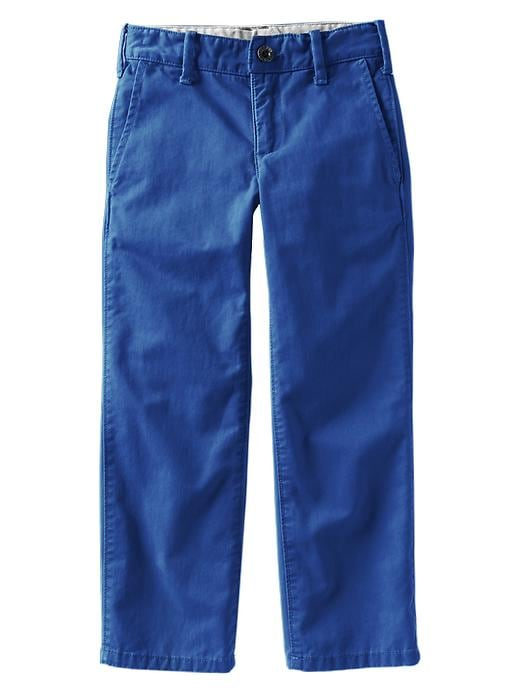 Gap Straight Khakis - Primary blue