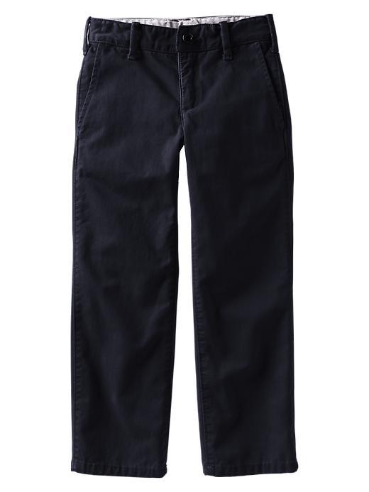 Gap Straight Khakis - True navy