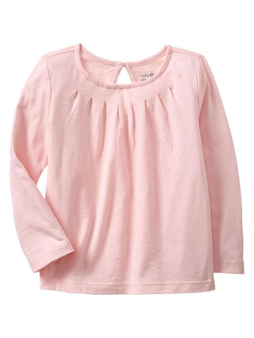 Gap Pleated Print T - Pink cameo