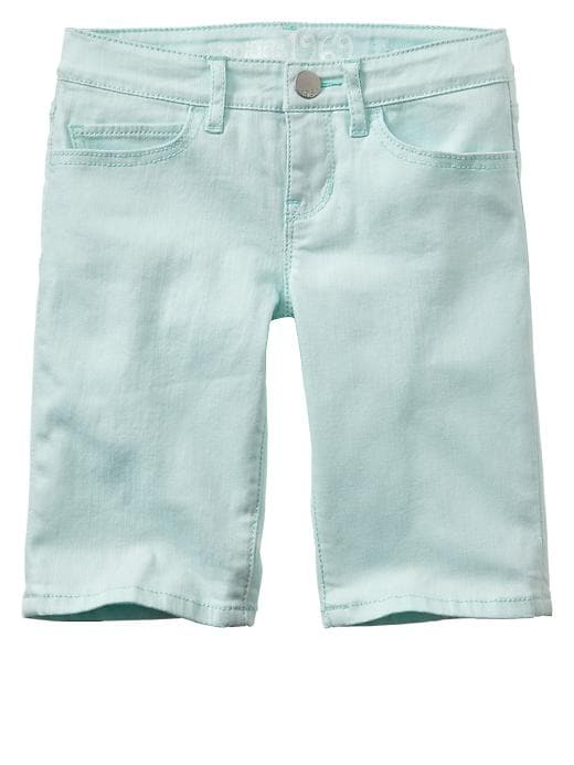 Gap Colored Bermuda Shorts - Glass of water - Gap Canada