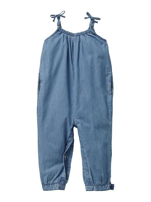 Gap Chambray Romper - Denim